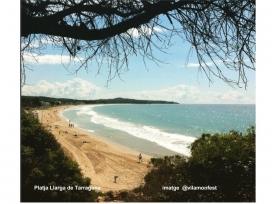 Platja Llarga de Tarragona (imatge: @vilamonfest)