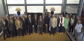 Imatge de les persones que van assistir al consell plenari aquest juliol