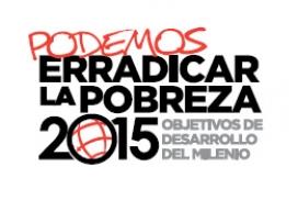 Logotip dels Objectius de desenvolupament del Mil·lenni