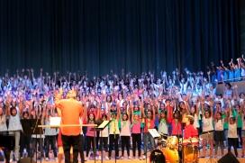 El 21 de maig el Palau Sant Jordi, acollirà uns 2.500 cantaires d'entre 7 i 16 anys (font: SCIC).