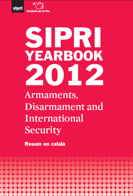 Portada del resum en català de l'Anuari 2012 del SIPRI