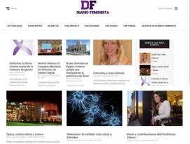 Portada de la primera edició de Diario Feminista, el 25 de novembre de 2017