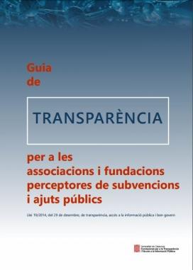 Portada Guia de Transparència