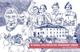 Portada del llibre 'El Raval i els inicis del feminisme obrer'