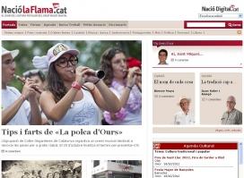 Portada del diari digital NacióLaFlama