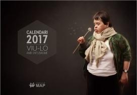 La portada del calendari que han venut des de la Fundació per recaptar fons