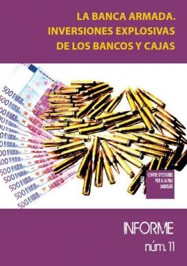 La portada del Informe número 11 del Centre Delàs