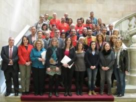 Aprovació de la resolució de l'Acord Nacional VIH a la Comissió de Salut del Parlament de Catalunya, el 6 de març de 2014 / Foto: C1D