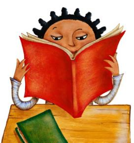 Lectura de llibres pels infants. Font: Poto Poto