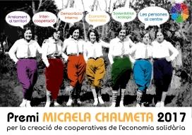Premi Micaela Chalmeta. Font: Twitter de Coòpolis