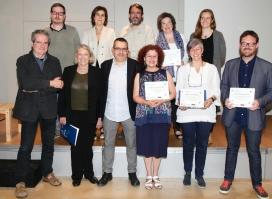 L'acte de lliurament del Premi La Confederació es va celebrar el 30 de maig a Barcelona.