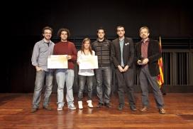 Guanyadors de l'edició 2011 dels Premis Jove, proposa!