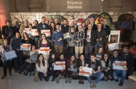 Premis Ateneus (Barcelona, 14 de desembre).