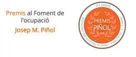 Premis al foment de l'ocupació Josep M. Piñol / Font: Acció Solidària Contra l'Atur