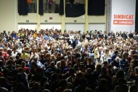Imatge de la presentació del sindicat de llogaters de Barcelona