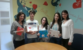 L'entitat va organitzar un concurs de dibuixos per l'hospital de la Vall d'Hebron (Font: AACIC)