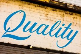 Quality. Font: Thomas Hawk (Flickr)