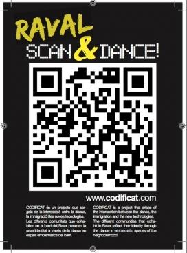Cartell del projecte Raval Scan&Dance!