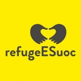 Logo de RefugeESuoc. Font: UOC