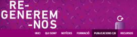 Captura de pantalla del blog Regenerem-nos. Font: Consell de la Joventut de Barcelona