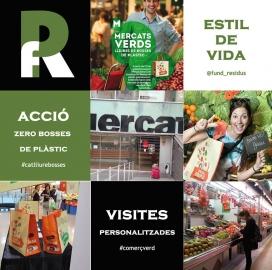 La Fundació col·labora amb els mercats (imatge:residusiconsum.org))