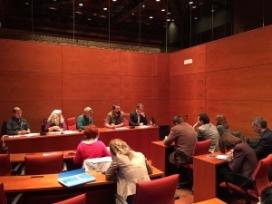 Presentació al parlament de la proposta de Llei Catalana de Prevenció de residus i ús eficient dels recursos, que incorpora mesures com la aprovada a França (imatge: residusiconsum.org)