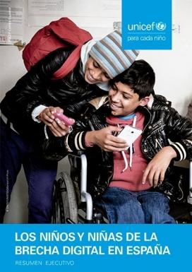 UNICEF analitza com afecta la bretxa digital a la infància més vulnerable