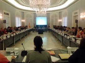 Imatge de la Comissió Nacional per a una Intervenció Coordinada contra la Violència Masclista. Font: web gencat.cat