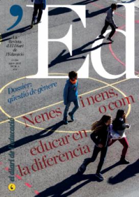 Portada de la revista 'Ed - La Revista d'El Diari de l'Educació.