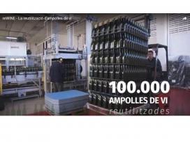 L'objectiu de Rewine és recuperar 100.000 ampolles fins al 2019