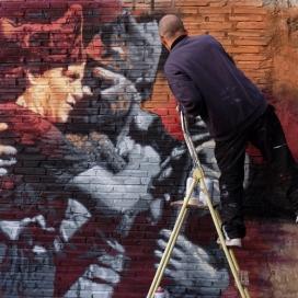 """Exposició """"Els carrers són nostres"""", de RocBlackBlock"""
