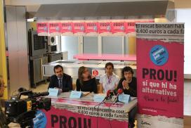 Fotografia de la roda de premsa de presentació de la Festa