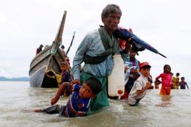 600.000 persones refugiades rohingyes han fugit de l'Estat de Rakhine.