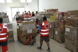 La Creu Roja ha repartit aliments a més de 130.000 persones amb dificultats