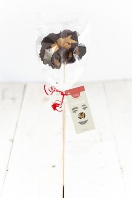 Rosa de galeta i xocolata d'El Rosal