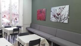 El menjador social de la fundació és un dels tres únics centres de la Xarxa de Menjadors Socials de Barcelona adreçat a famílies amb menors