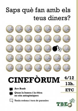 """Cartell de la campanya """"Triem Banca Ètica"""" (Font: FAS)"""