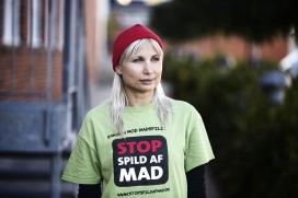 Selina Juul és una de les cares visibles del moviment danés Stop spild af mat (imatge: b.dk)