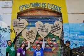 Participa del recompte de persones sense sostre al carrer