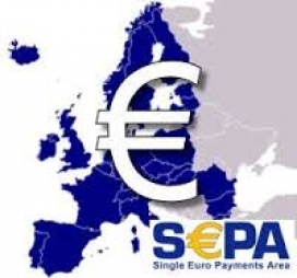 Logo de la zona única de pagament SEPA