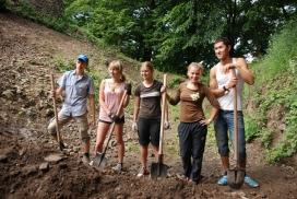 Voluntaris i voluntàris d'un projecte EVS. Font: Wikipedia
