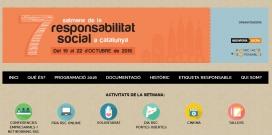 La setena Setmana de la Responsabilitat Social tindrà lloc del 19 al 22 d'octubre del 2016. Font: ingeniería Social