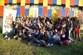 Participants de la Setmana pels Drets de la Joventut. Font: Fundesplai