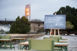 campanya de Save the Children a Sevilla