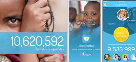 Share the meal és una iniciativa del Programa Mundial d'Aliments de la ONU.
