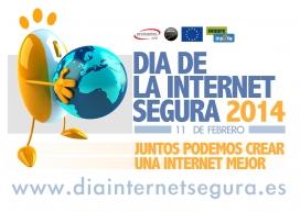 Logotip en castellà del Dia Mundial de la Internet Segura 2014