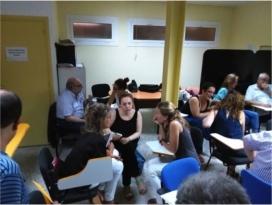 Reunió per elaborar la 'Guia-marc sobre la gestió del voluntariat (Font:voluntaris.cat)