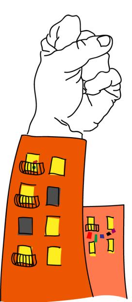 Imatge gràfica del Sindicat de llogueters