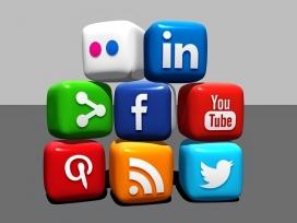 Diferents xarxes socials que podem fer servir. Font: Pixabay