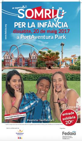 """Festa """"Somriure per la infància"""" a PortAventura"""